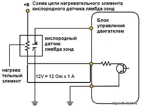 распиновка датчика кислорода toyota caldina